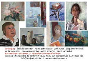 uitnodiging atelierweekend MM april 2014